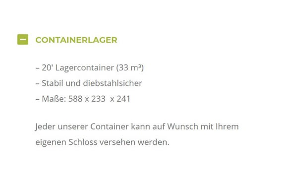 Containerlager