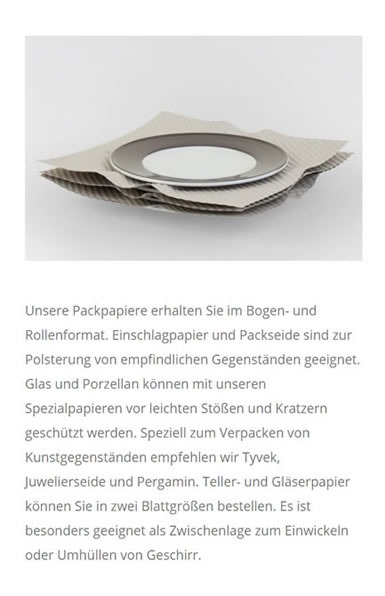 Packpapiere
