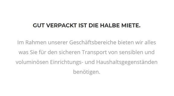 verpacken service in der Nähe von  Albershausen